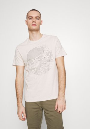 WELLTHREAD POCKET TEE - T-shirt print - sand