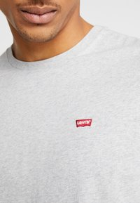 Levi's® - THE ORIGINAL TEE - T-shirt print - patch medium grey heather embroidery - 5