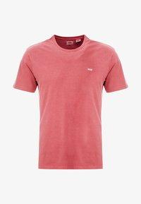 Levi's® - THE ORIGINAL TEE - T-Shirt print - earth red - 4