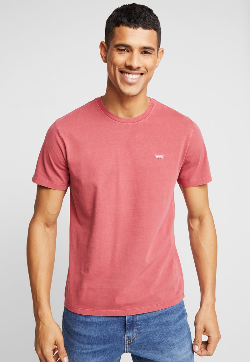 Levi's® - THE ORIGINAL TEE - T-Shirt print - earth red