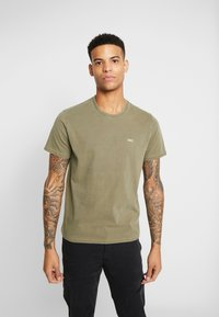 Levi's® - THE ORIGINAL TEE - T-shirt con stampa - olive night - 0