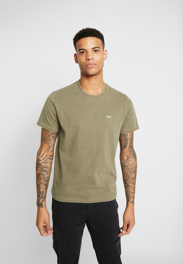 THE ORIGINAL TEE - T-shirt med print - olive night