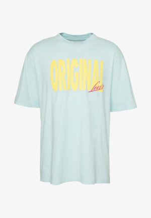 GRAPHIC TEE - Camiseta estampada - clearwater
