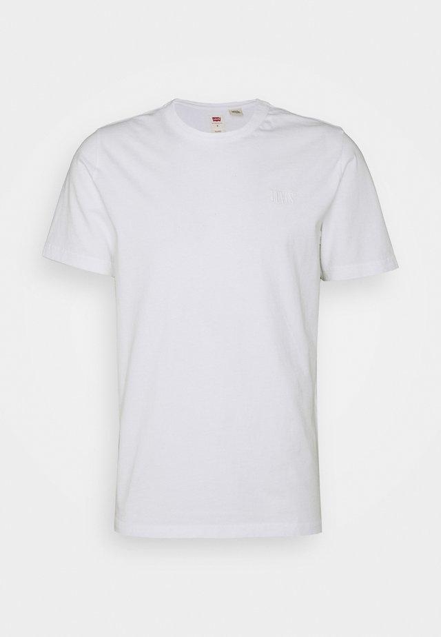 AUTHENTIC CREWNECK TEE - T-shirt basic - white