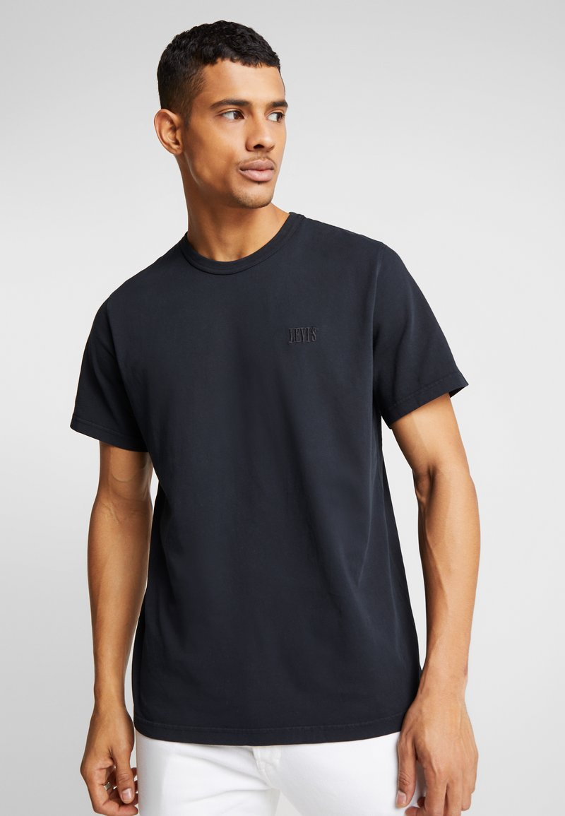 Levi's® - AUTHENTIC CREWNECK TEE - T-paita - mineral black