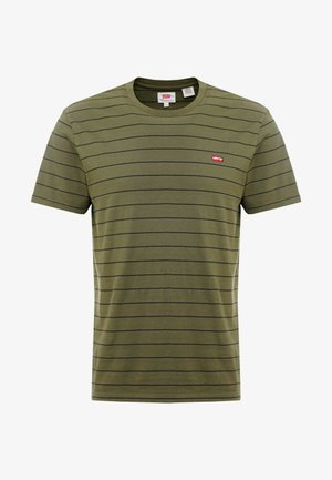 THE ORIGINAL TEE - T-shirts med print - olive night/mineral black