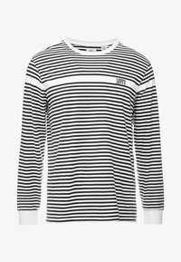 Levi's® - AUTHENTIC TEE - Top s dlouhým rukávem - white/ mineral black - 4