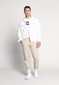 Levi's® - HOUSEMARK GRAPHIC TEE - T-shirt con stampa - batwing white - 1
