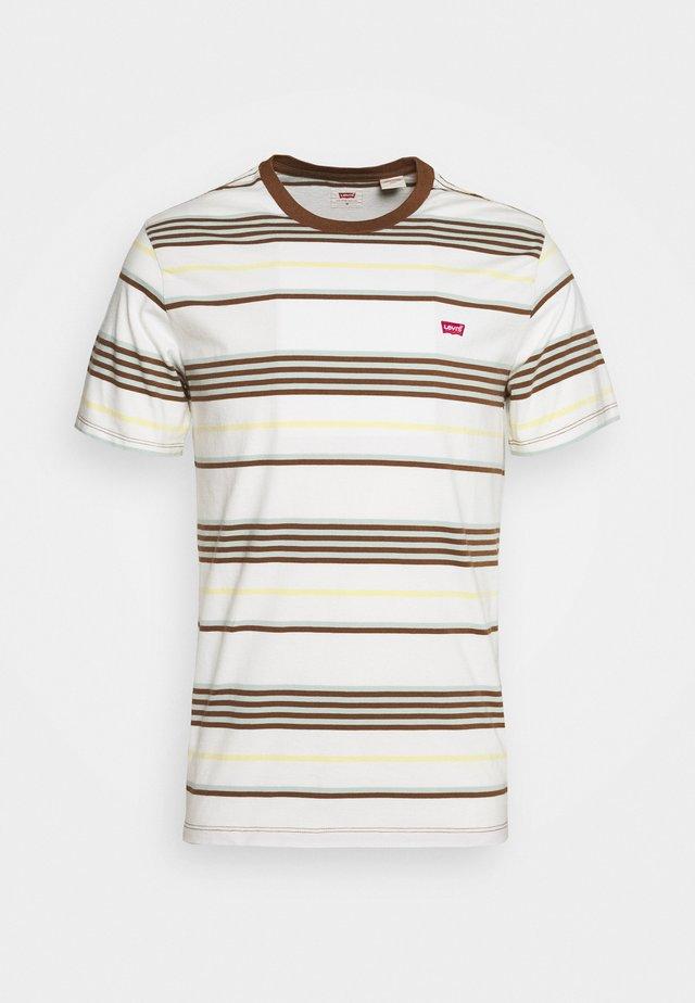 ORIGINAL TEE - T-shirt basic - bright tofu
