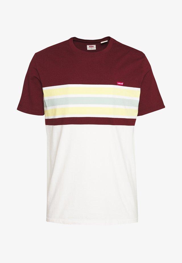 ORIGINAL TEE - T-Shirt basic - bordeaux