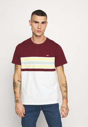 ORIGINAL TEE - T-shirt imprimé - bordeaux