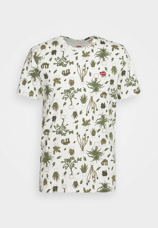 ORIGINAL TEE - T-shirts med print - nephrite olive night