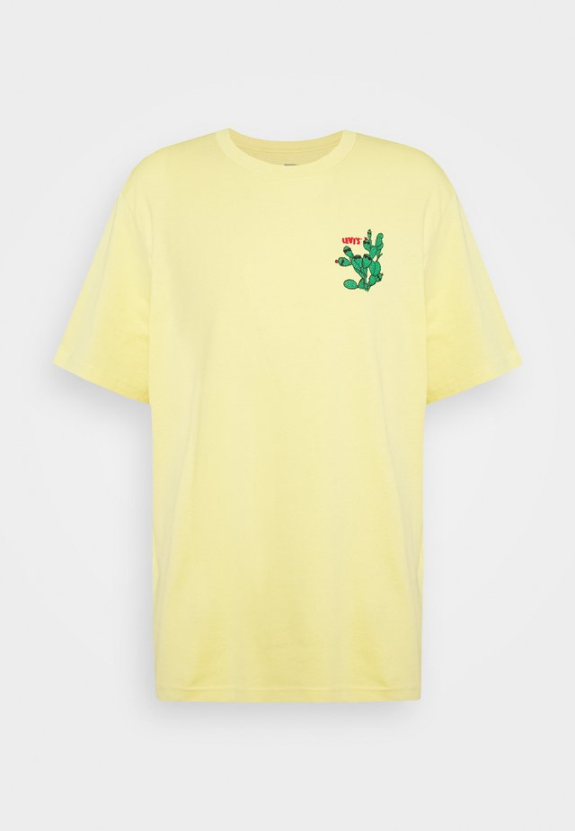 RELAXED FIT TEE - T-shirt print - dusky citron