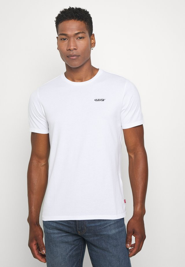 GRAPHIC CREWNECK TEE - T-shirts med print - white