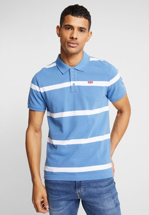 STANDARD GOOD - Polo shirt -  jay stripe riverside/ white