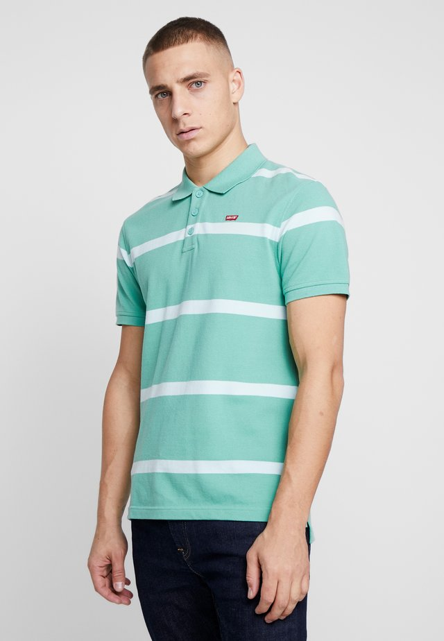 STANDARD GOOD - Polo - clearwater / creme de menthe