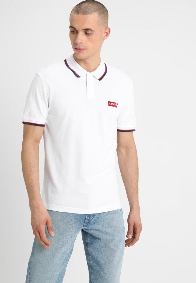 MODERN - Polo - white