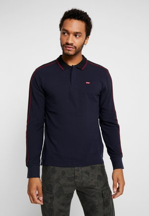 PIECED POLO - Poloshirt - nightwatch blue/black