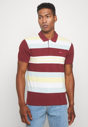 ORIGINAL BATWING POLO - Polo shirt - port