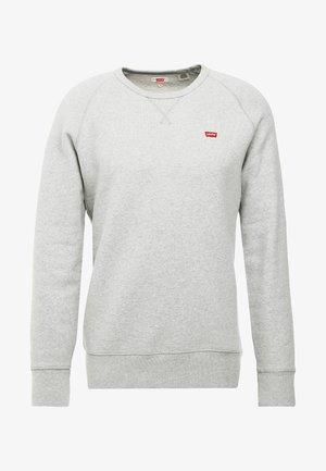 ORIGINAL ICON CREW - Sweatshirt - medium grey heather