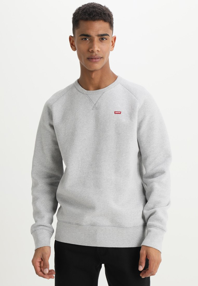 Levi's® - ORIGINAL ICON CREW - Sudadera - medium grey heather