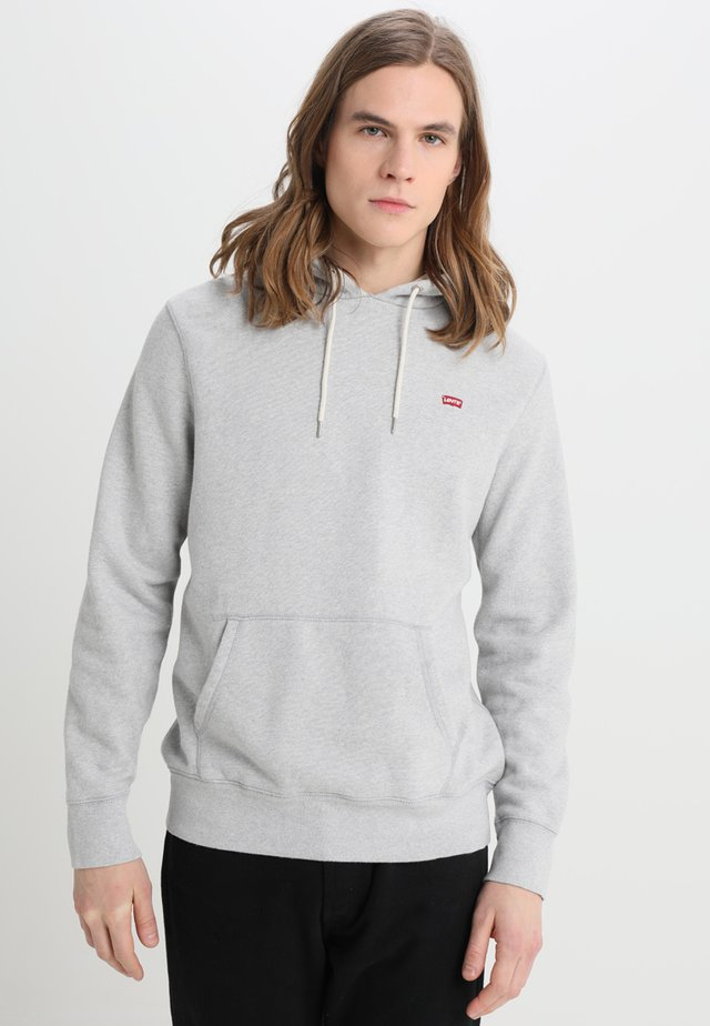 ORIGINAL HOODIE - Jersey con capucha - medium grey heather