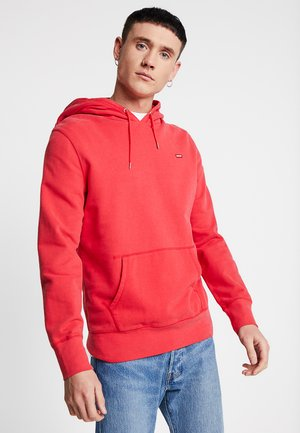 ORIGINAL HOODIE - Luvtröja - brilliant red