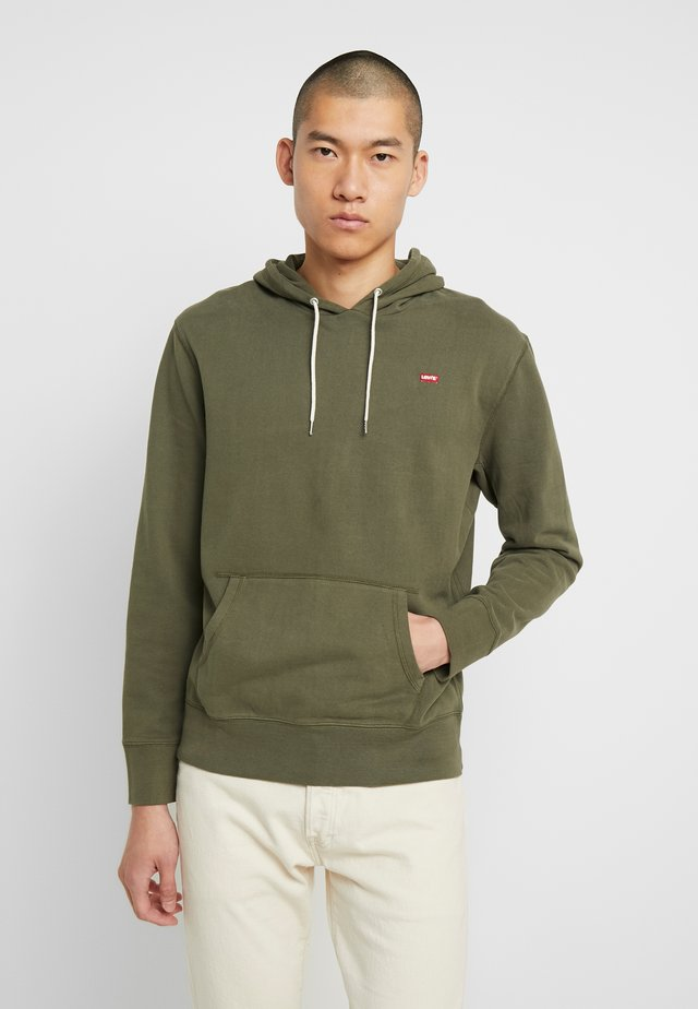 ORIGINAL HOODIE - Jersey con capucha - olive night