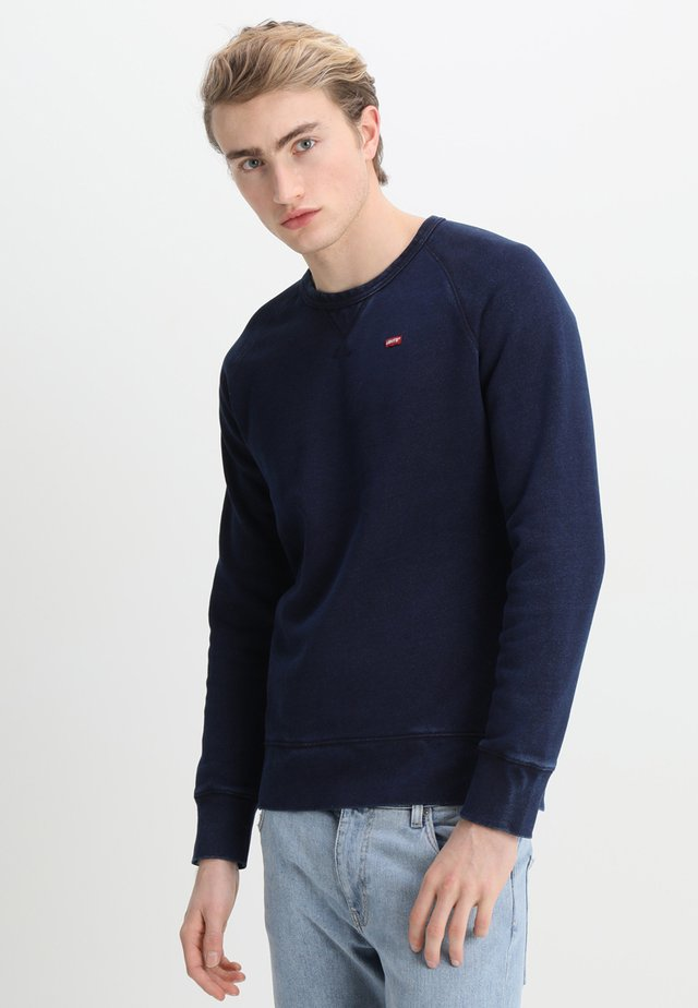 ORIGINAL ICON - Sweatshirt - crew indigo