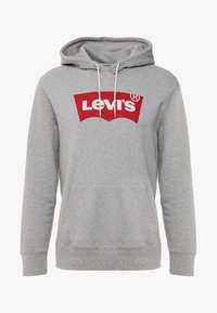 Levi's® - GRAPHIC HOODIE - Sweat à capuche - midtone heather grey - 3