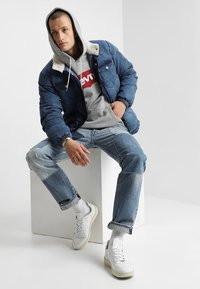 Levi's® - GRAPHIC HOODIE - Sweat à capuche - midtone heather grey - 1