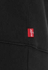 Levi's® - GRAPHIC CREW - Mikina - logo  crew mineral black - 5