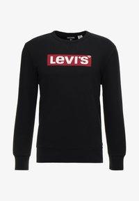 Levi's® - GRAPHIC CREW - Mikina - logo  crew mineral black - 4