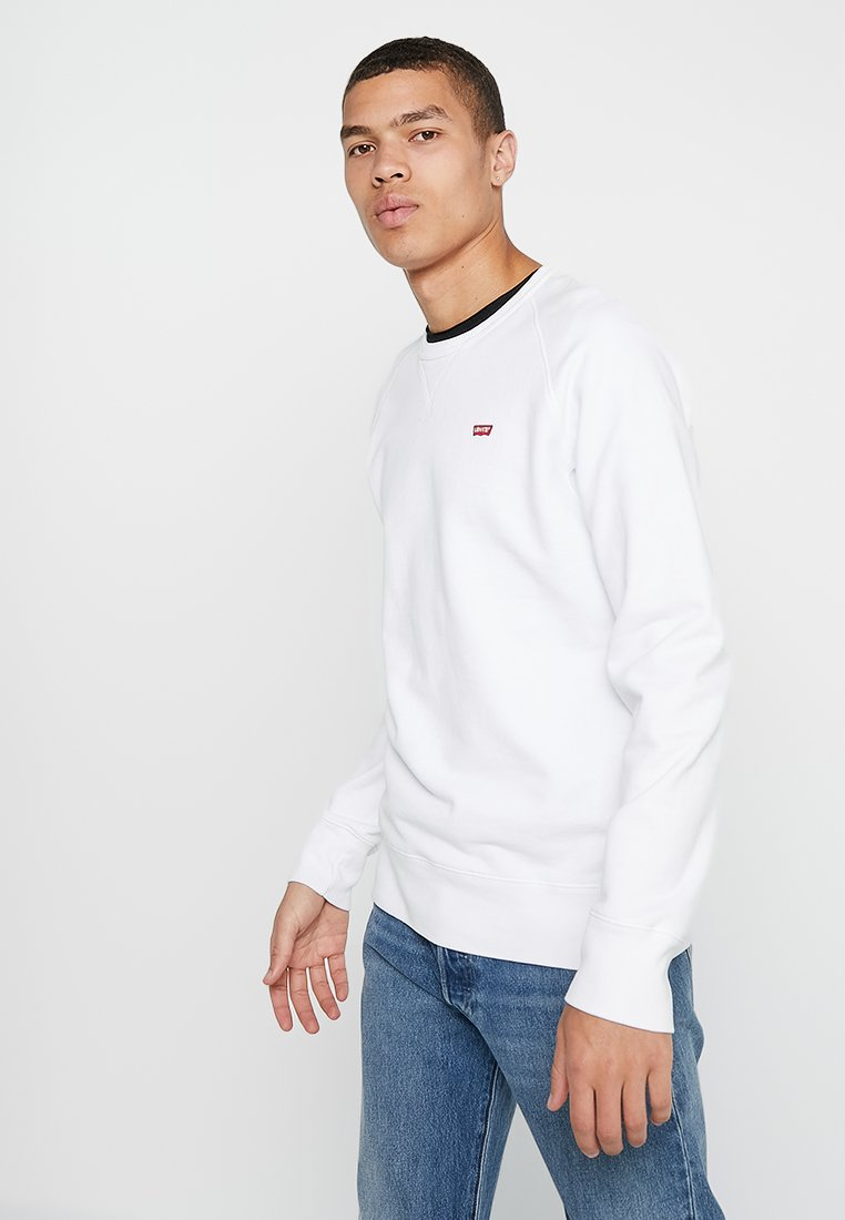 Levi's® - ORIGINAL ICON CREW - Collegepaita - white