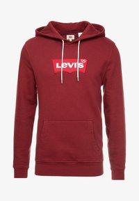 Levi's® - MODERN HOODIE - Hoodie - warm cabernet - 4