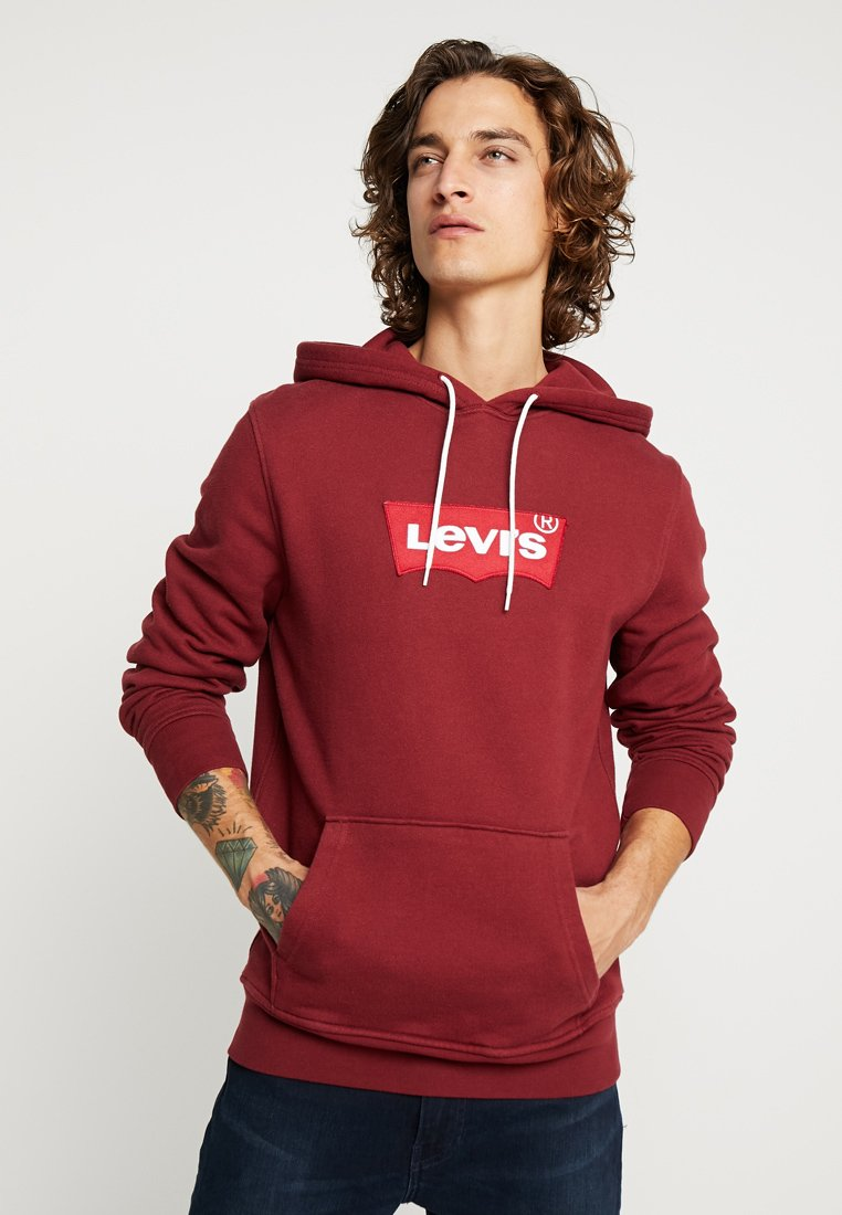 Levi's® - MODERN HOODIE - Hoodie - warm cabernet