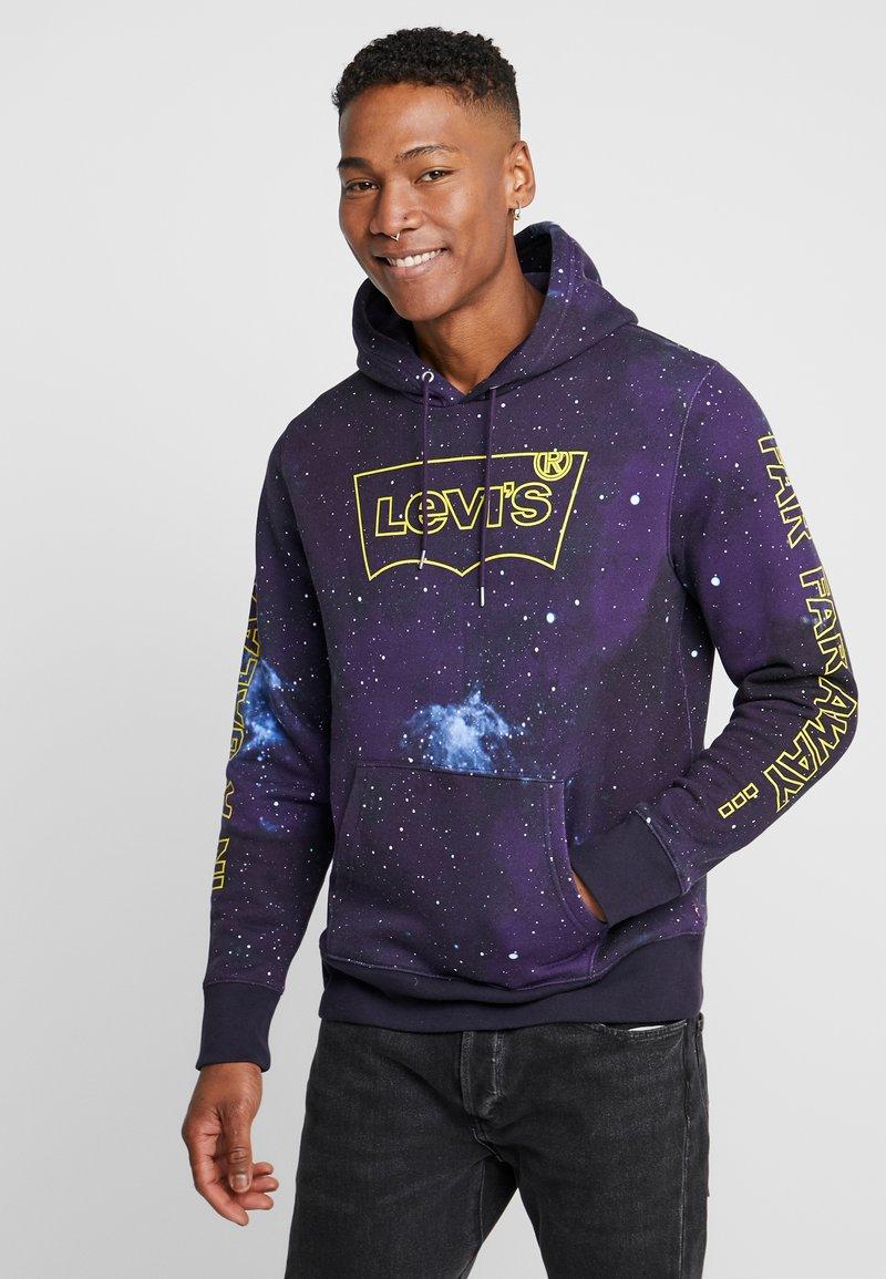 Levi's® - LEVI'S® X STAR WARS GRAPHIC PO HOODIE - Felpa con cappuccio - black