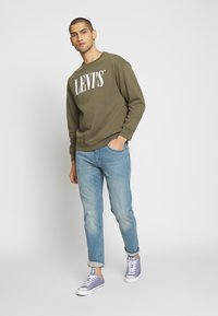 Levi's® - RELAXED GRAPHIC CREWNECK - Collegepaita - olive night - 3