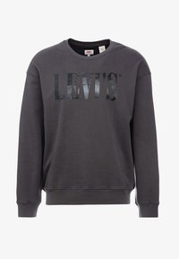 Levi's® - RELAXED GRAPHIC CREWNECK - Sweater - serif holiday forged iron - 3