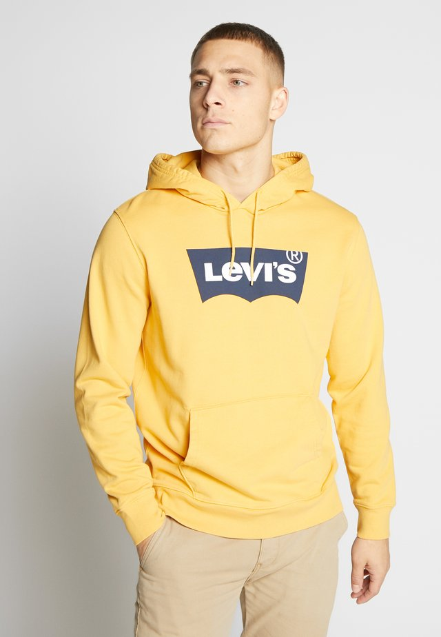 GRAPHIC HOODIE - Jersey con capucha - golden apricot