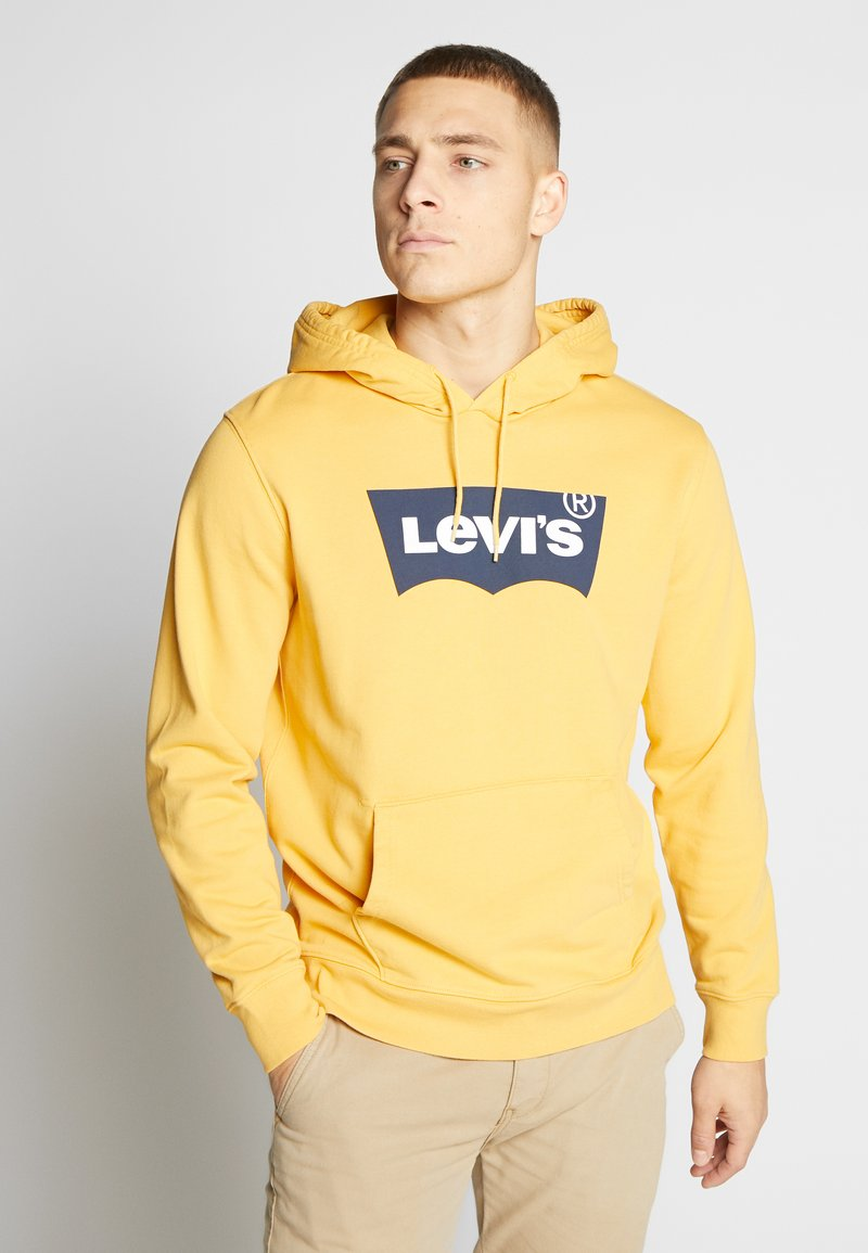 Levi's® - GRAPHIC HOODIE - Luvtröja - golden apricot