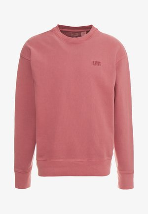 AUTHENTIC LOGO CREWNECK - Sweatshirt - earth red