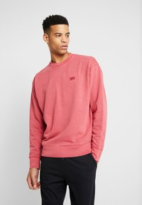 Levi's® - AUTHENTIC LOGO CREWNECK - Collegepaita - earth red - 0