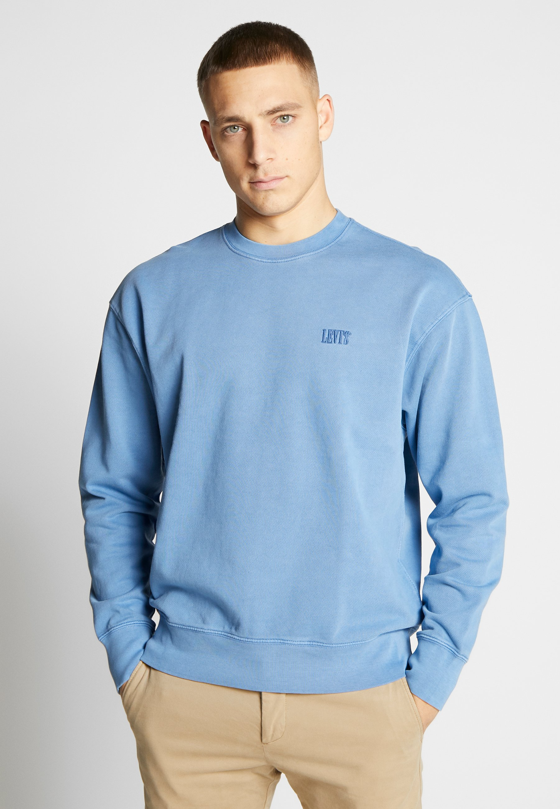 Levi's® AUTHENTIC LOGO CREWNECK - Bluza - riverside