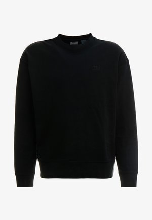 AUTHENTIC LOGO CREWNECK - Mikina - mineral black