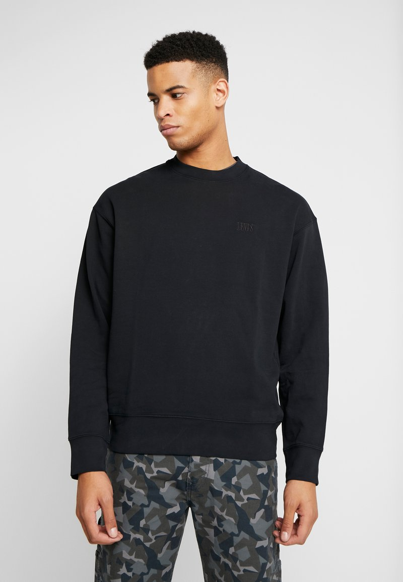 Levi's® - AUTHENTIC LOGO CREWNECK - Sweatshirts - mineral black
