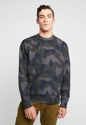 AUTHENTIC LOGO CREWNECK - Sweatshirt - pirate black