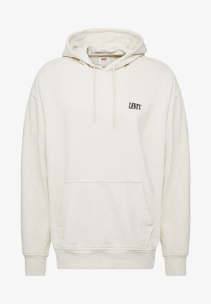 AUTHENTIC HOODIE - Hoodie - fog/mineral black