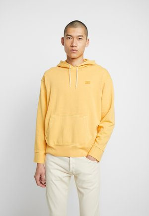 AUTHENTIC HOODIE - Luvtröja - golden apricot