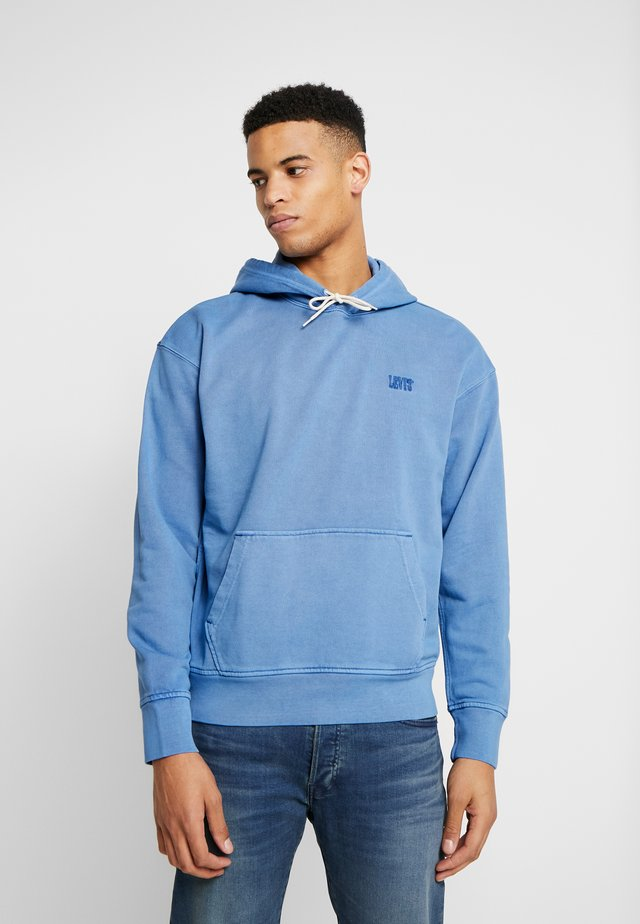 AUTHENTIC HOODIE - Mikina skapucí - blue
